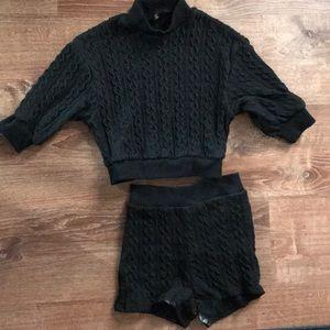 Sweater short set